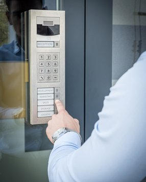 The Security Network - Keypad Access Control, Security Systems, England, Wales, UK