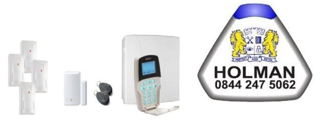 the West Midlands served by Holman Alarm Installers - Risco Intruder Alarms and Home Automation