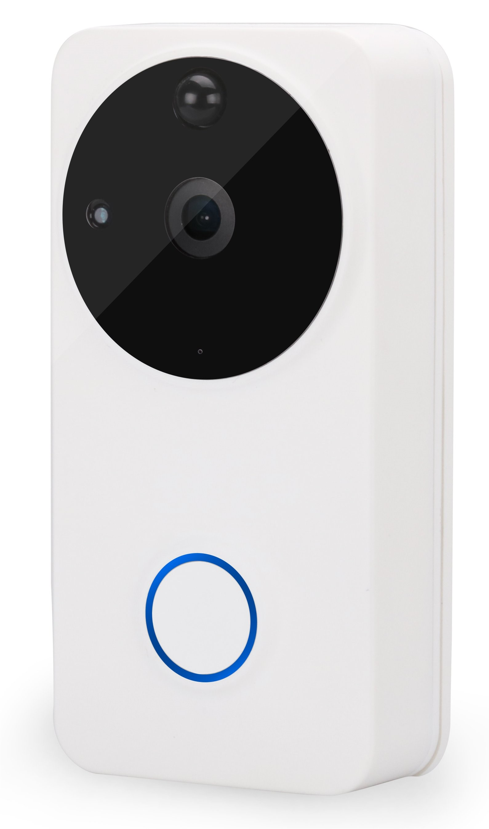 Cymru Security Systems for White Smart Door Bell in Wales