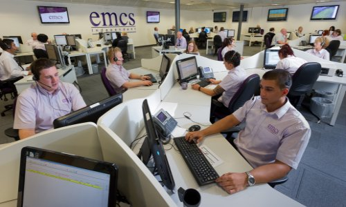 The Security Network EMCS Monitoring for England, Wales, UK