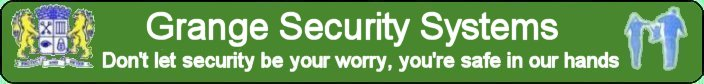 Grange Security Systems Banner