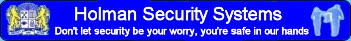 Holman Security Systems Banner