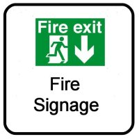 NorthWest Security Systems Fire Signage for North West England