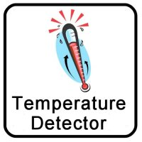 Multicraft Security Systems Temperature Detectors