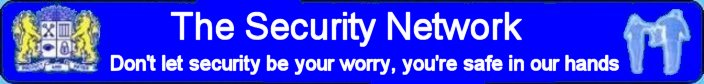 The Security Network Banner